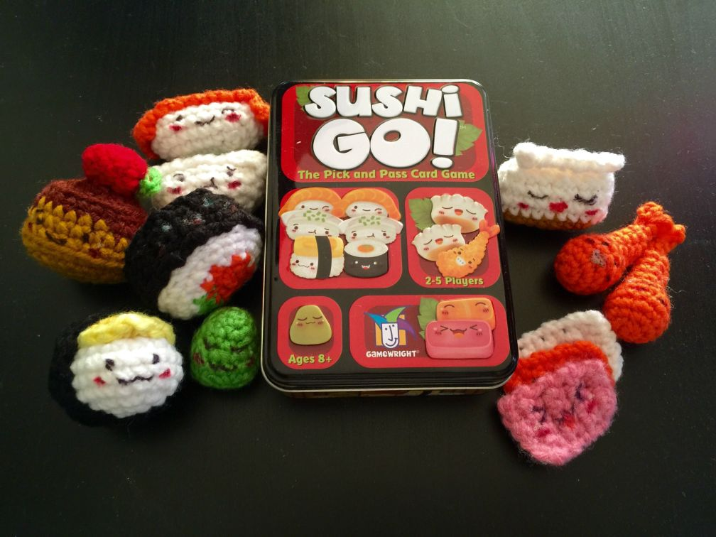 01 - My friend made me this adorable bday present based on Sushi Go