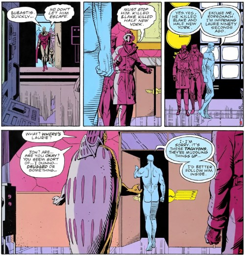 Watchmen 12-014 - Dr.Manhattan's existence is above time