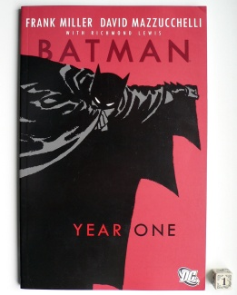 Batman Year One 000 cover