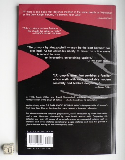 Batman Year One 001 back