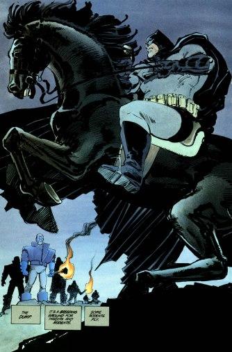 The Dark Knight Returns p.170 (The Knight!)