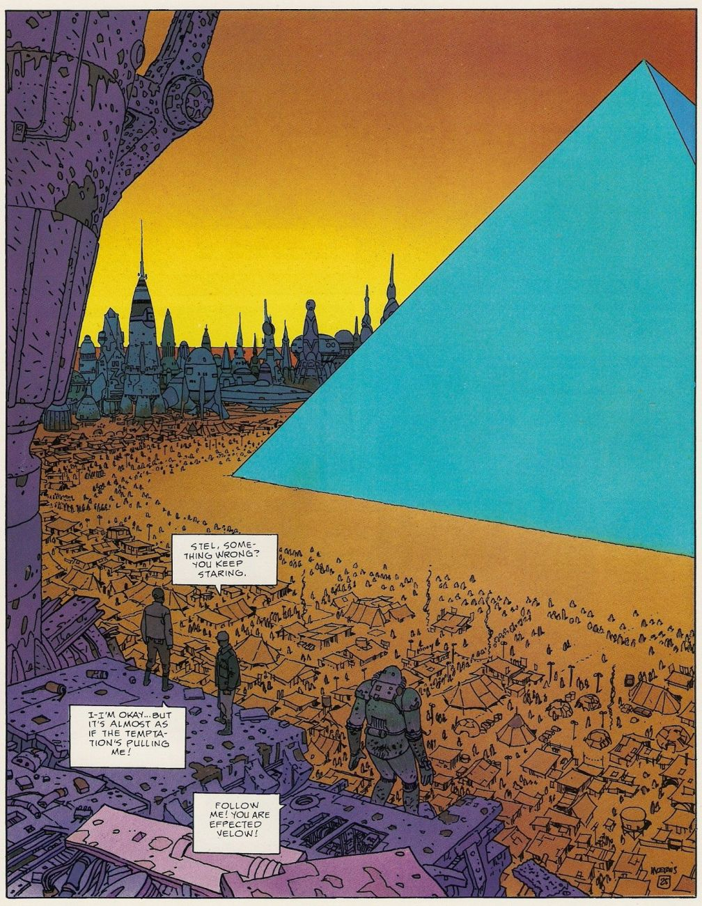 Epic Graphic Novel Moebius 1 Upon A Star-0038