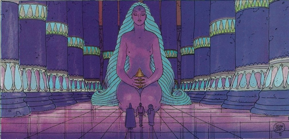 Epic Graphic Novel Moebius 1 Upon A Star-00xx